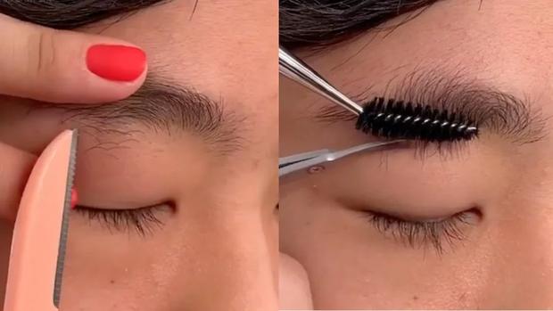 Biến hàng lông mày mọc lởm chởm thành chuẩn khuôn sắc nét chỉ bằng vài ba bước dễ ợt - Ảnh 2.