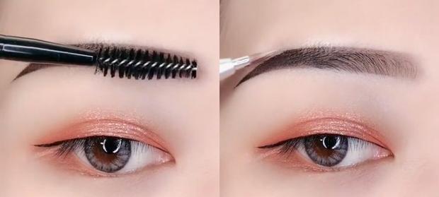 Biến hàng lông mày mọc lởm chởm thành chuẩn khuôn sắc nét chỉ bằng vài ba bước dễ ợt - Ảnh 8.