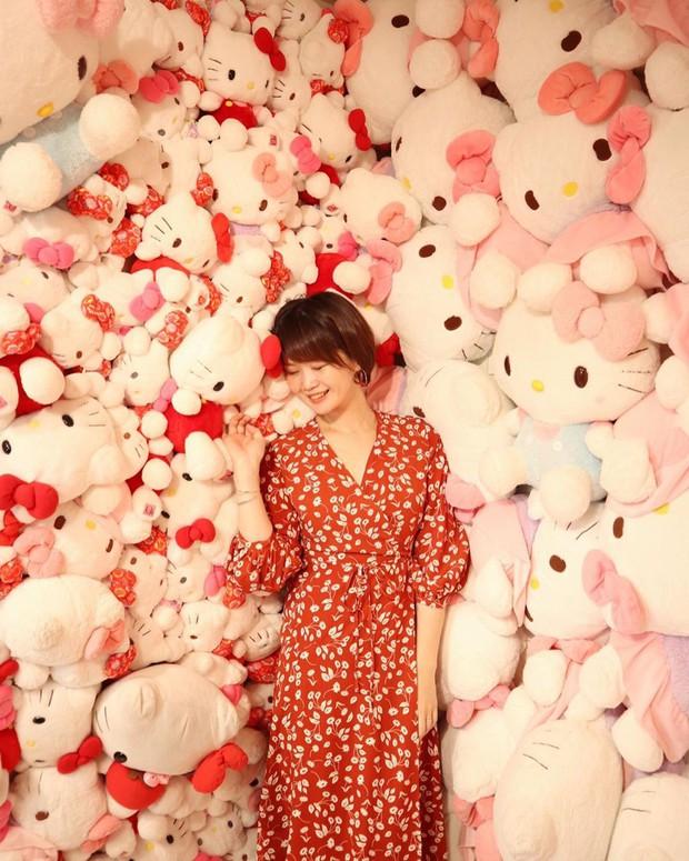 Phát sốt thiên đường Hello Kitty vừa lộ diện ở Nhật Bản, mỗi khi thấy chán đời tìm đến đây là vui lên ngay! - Ảnh 23.