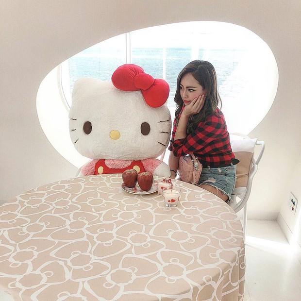 Phát sốt thiên đường Hello Kitty vừa lộ diện ở Nhật Bản, mỗi khi thấy chán đời tìm đến đây là vui lên ngay! - Ảnh 24.