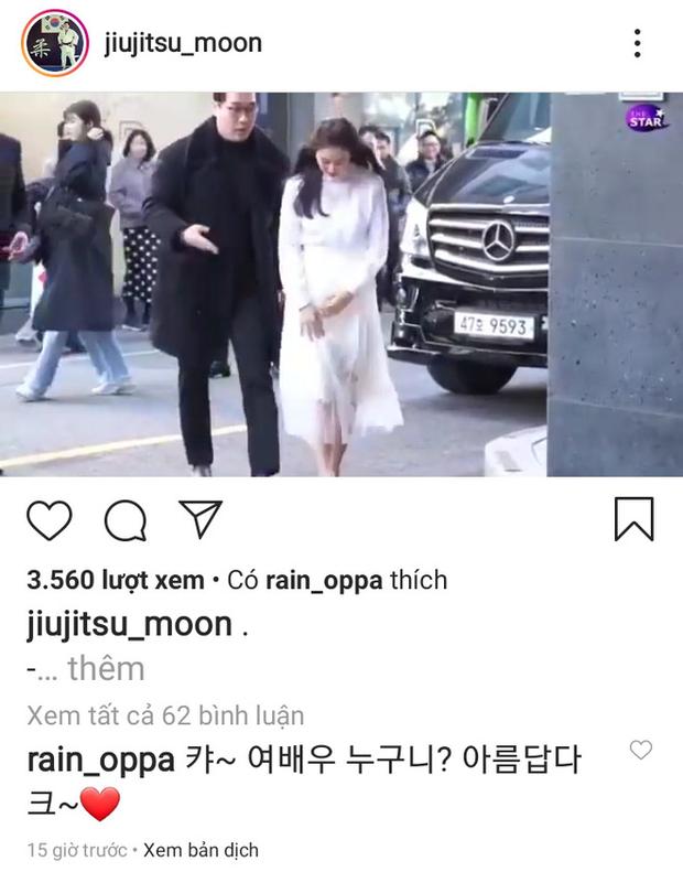 Cuồng vợ như Bi Rain: Nhiệt tình thả tim, công khai tâng bốc bà xã Kim Tae Hee lên trời dưới ảnh sự kiện - Ảnh 2.