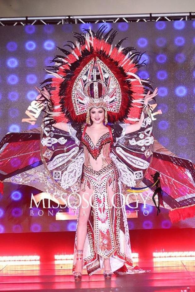 Mất nón dài 1,2m, Lạc Vũ hoành tráng vẫn không thể đem giải Quốc phục về cho Ngọc Châu tại Miss Supranational 2019 - Ảnh 5.