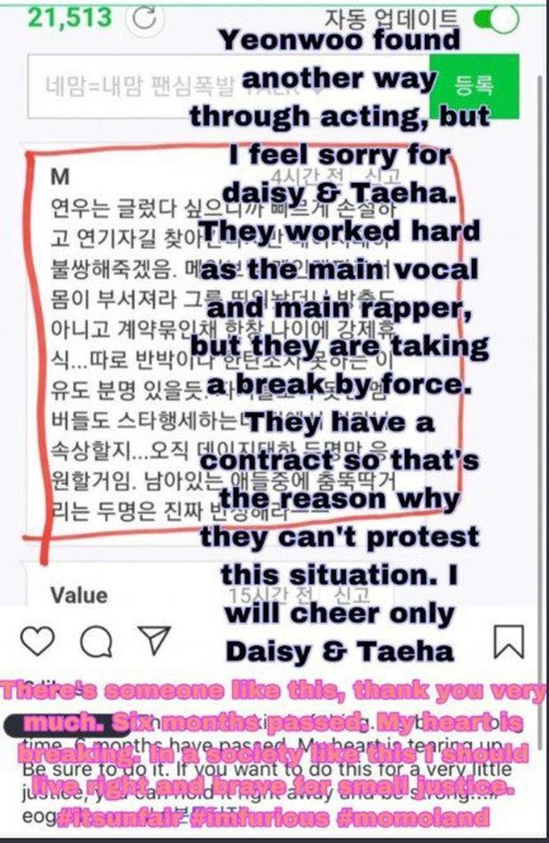 MOMOLAND đã lục đục nội bộ từ lâu trước khi 2 thành viên rời nhóm, Daisy và Taeha từng nghi bị công ty ép ăn... giòi? - Ảnh 7.