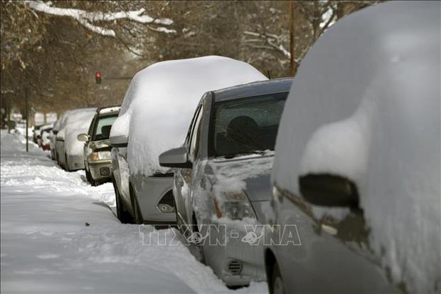 1.000 người bị mắc kẹt tại bang Arizona do bão tuyết  - Ảnh 1.