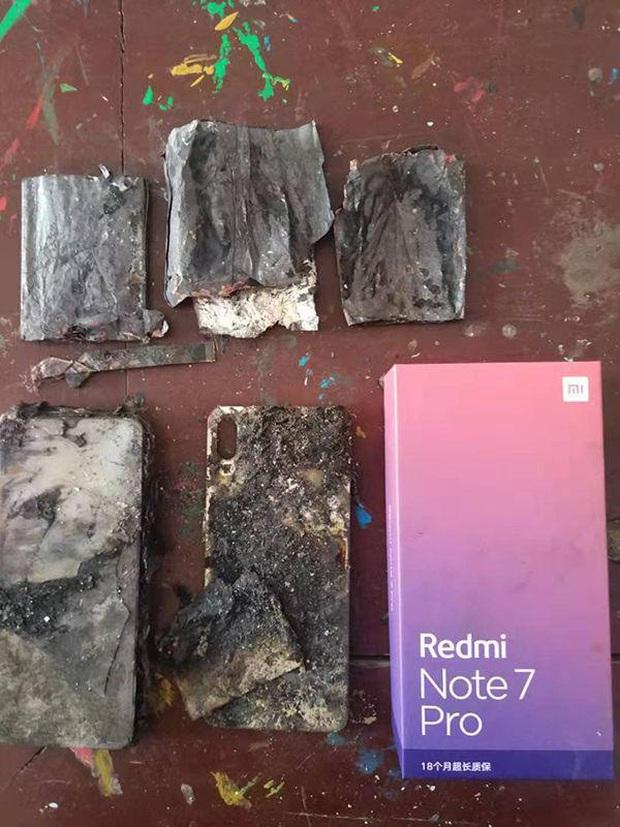 Thêm một chiếc điện thoại Xiaomi nữa phát nổ, lần này là Redmi Note 7 Pro - Ảnh 1.