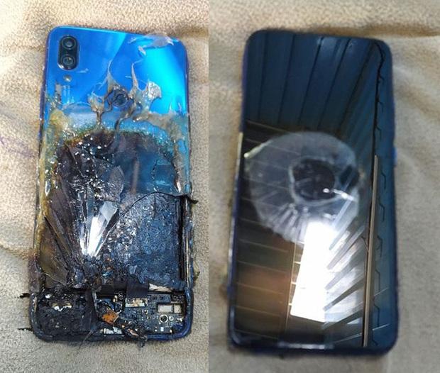 Thêm một chiếc điện thoại Xiaomi nữa phát nổ, lần này là Redmi Note 7 Pro - Ảnh 2.