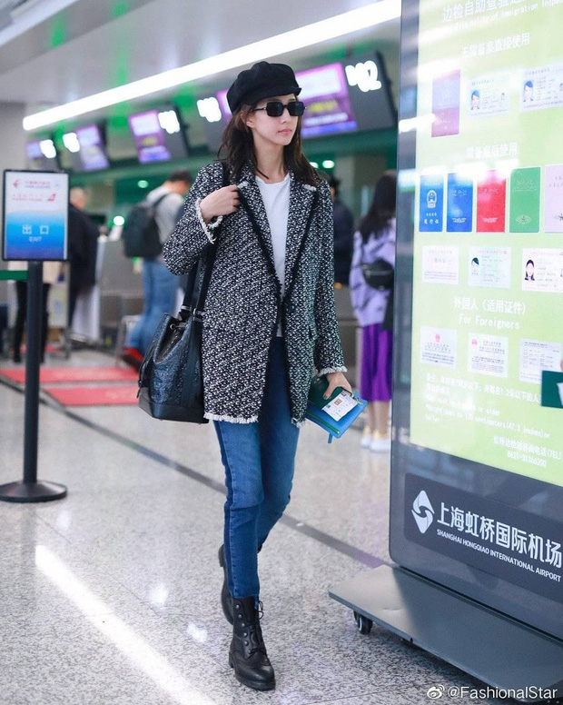 Style sân bay sao Hoa - Hàn tuần qua: Công thức blazer + jeans được chọn nhiều, nhưng ai mới là người mặc đẹp nhất? - Ảnh 9.