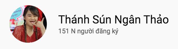 Thánh sún Ngân Thảo đạt nút Bạc của YouTube chỉ sau 2 tuần chiến thắng Thách thức danh hài - Ảnh 5.