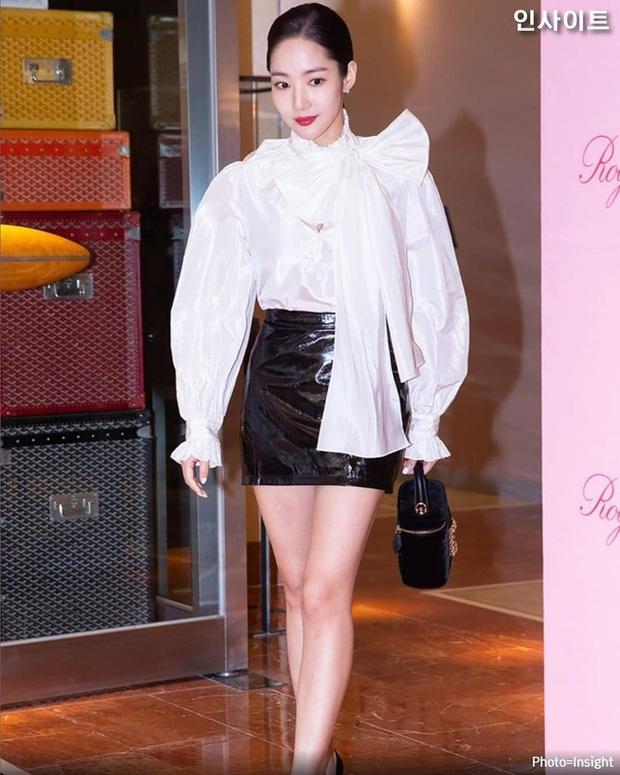 """Chơi thân lâu nên giờ kiểu tóc của Park Min Young giống Jessica quá chừng, nhưng nhìn không """"xịn"""" bằng tóc mái phồng style """"Thư ký Kim"""" - Ảnh 1."""