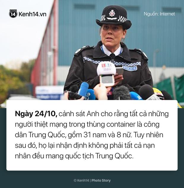 Toàn cảnh vụ 39 thi thể người Việt được phát hiện trong xe container ở Anh - Ảnh 3.