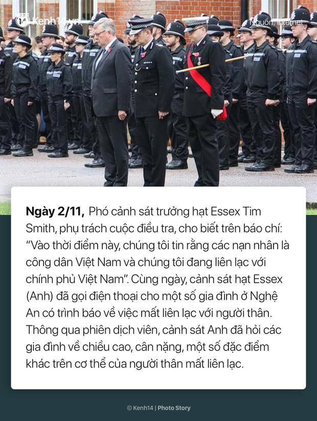 Toàn cảnh vụ 39 thi thể người Việt được phát hiện trong xe container ở Anh - Ảnh 12.
