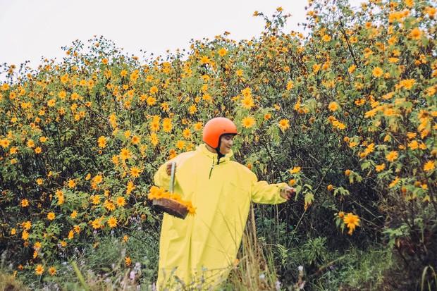 Bất chấp trời mưa, chàng photographer cho ra đời bộ ảnh chụp cùng hoa dã quỳ với concept có 1-0-2 khiến dân tình bấn loạn - Ảnh 9.