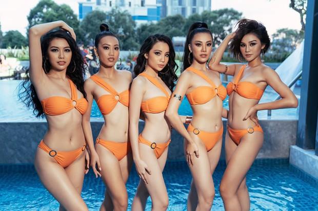 Bất ngờ với body lột xác đáng kể trong bikini của dàn thí sinh mạnh nhất Hoa hậu Hoàn vũ Việt Nam sau 1 tháng vào nhà chung - Ảnh 1.