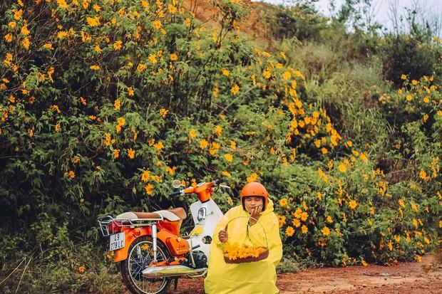 Bất chấp trời mưa, chàng photographer cho ra đời bộ ảnh chụp cùng hoa dã quỳ với concept có 1-0-2 khiến dân tình bấn loạn - Ảnh 5.