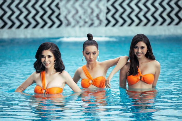 Bất ngờ với body lột xác đáng kể trong bikini của dàn thí sinh mạnh nhất Hoa hậu Hoàn vũ Việt Nam sau 1 tháng vào nhà chung - Ảnh 3.