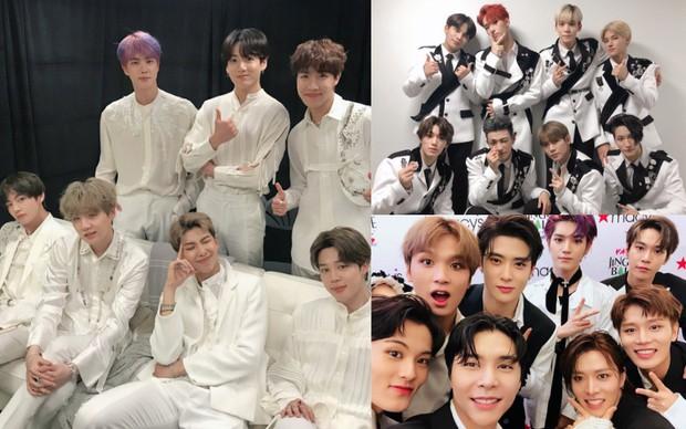 Kpop gặt hái tại lễ trao giải MTV EMAs 2019: BTS thắng đậm, ATEEZ đè bẹp ITZY và IZ*ONE, NCT 127 trình diễn cuốn hút - Ảnh 2.
