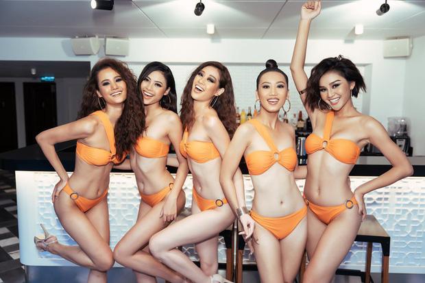 Bất ngờ với body lột xác đáng kể trong bikini của dàn thí sinh mạnh nhất Hoa hậu Hoàn vũ Việt Nam sau 1 tháng vào nhà chung - Ảnh 2.