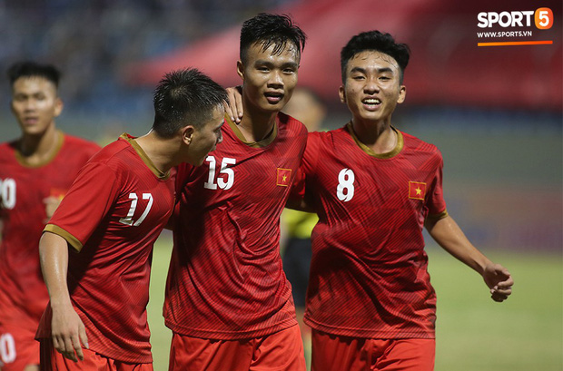 Thần đồng bóng đá Đồng Tháp, Trần Công Minh ghi điểm trong mắt HLV Park Hang-seo trước thềm SEA Games 2019 - Ảnh 8.