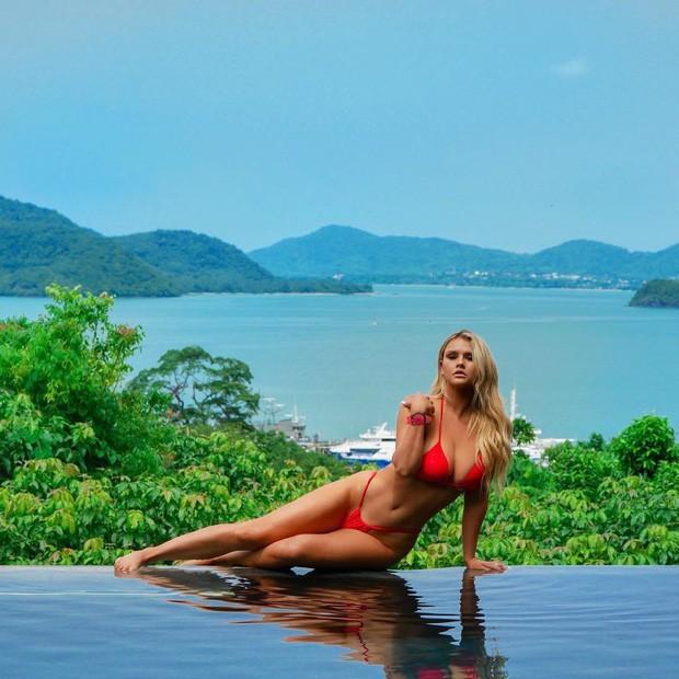 Fan Việt nhận ra địa điểm Lisa (BLACKPINK) vừa check-in là nơi Jolie Nguyễn và Vũ Khắc Tiệp từng quay vlog: Resort hot nhất Thái Lan chính là đây! - Ảnh 8.