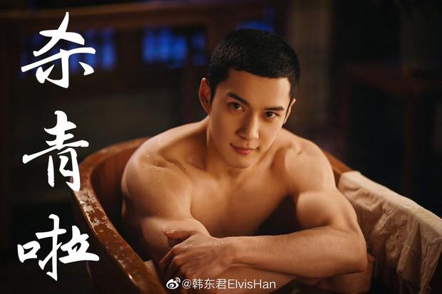 5 nam thần Hoa Ngữ xuống tóc vì nghiệp diễn: Dịch Dương Thiên Tỉ đầu gấu ăn đứt Trần Phi Vũ - Ảnh 16.