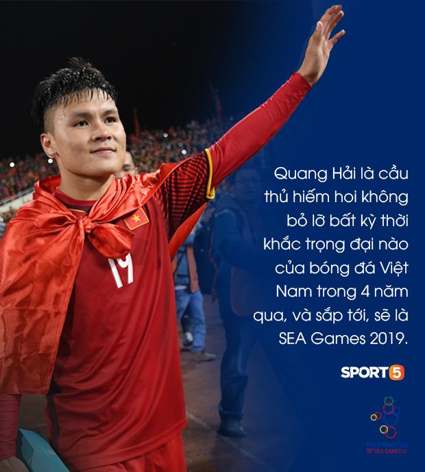 Nguyễn Quang Hải: Người hùng với những khoảnh khắc thiên tài và sứ mệnh giành vàng tại SEA Games 2019 - Ảnh 4.
