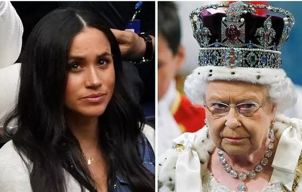 Nữ hoàng Anh không cho phép vợ chồng Meghan Markle rời khỏi hoàng gia, xây dựng cuộc sống mới - Ảnh 1.
