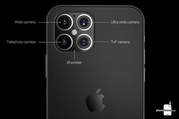 Đây sẽ là thiết kế của iPhone 12: Hao hao iPhone 4 và camera nhiều lỗ như vòi hoa sen? - Ảnh 6.