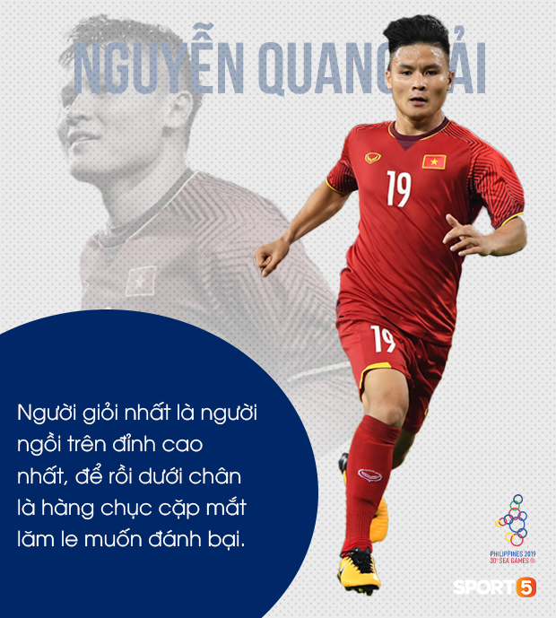 Nguyễn Quang Hải: Người hùng với những khoảnh khắc thiên tài và sứ mệnh giành vàng tại SEA Games 2019 - Ảnh 3.