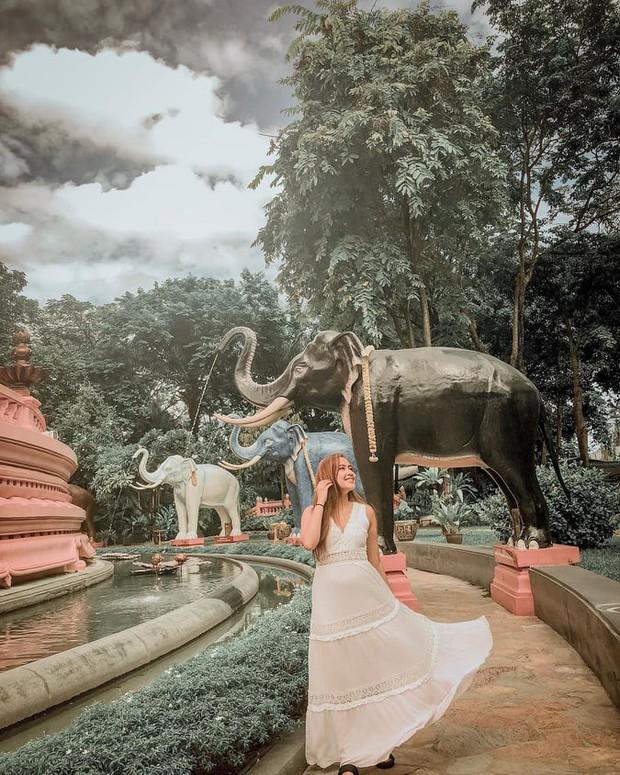 Bảo tàng ở Thái Lan đang nổi đình đám trên Instagram với bức tượng voi 3 đầu khổng lồ, bước vào bên trong còn choáng ngợp hơn! - Ảnh 15.