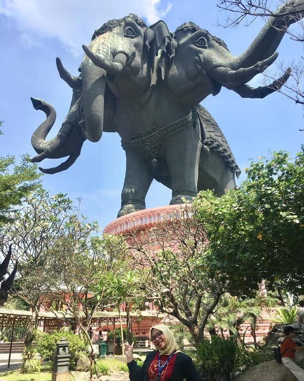 Bảo tàng ở Thái Lan đang nổi đình đám trên Instagram với bức tượng voi 3 đầu khổng lồ, bước vào bên trong còn choáng ngợp hơn! - Ảnh 3.
