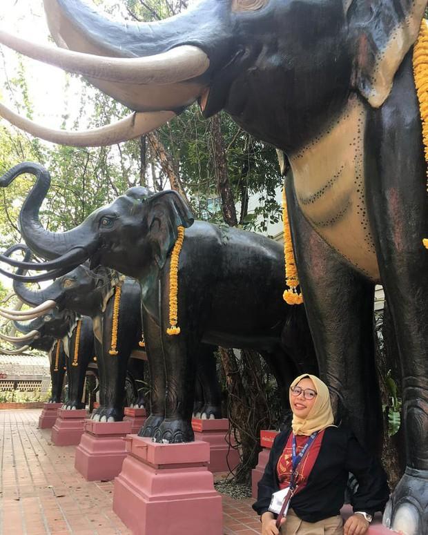 Bảo tàng ở Thái Lan đang nổi đình đám trên Instagram với bức tượng voi 3 đầu khổng lồ, bước vào bên trong còn choáng ngợp hơn! - Ảnh 2.