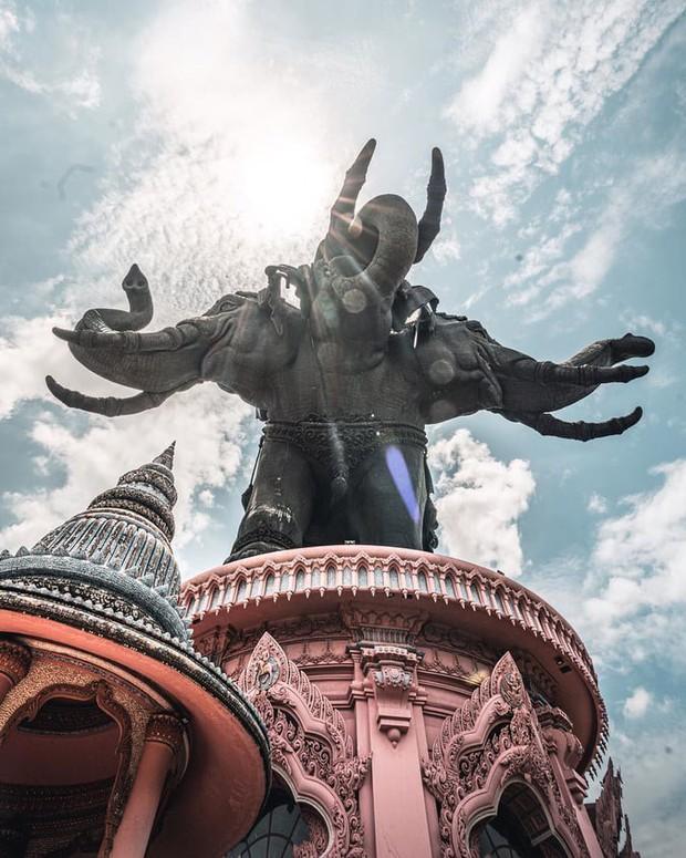 Bảo tàng ở Thái Lan đang nổi đình đám trên Instagram với bức tượng voi 3 đầu khổng lồ, bước vào bên trong còn choáng ngợp hơn! - Ảnh 4.