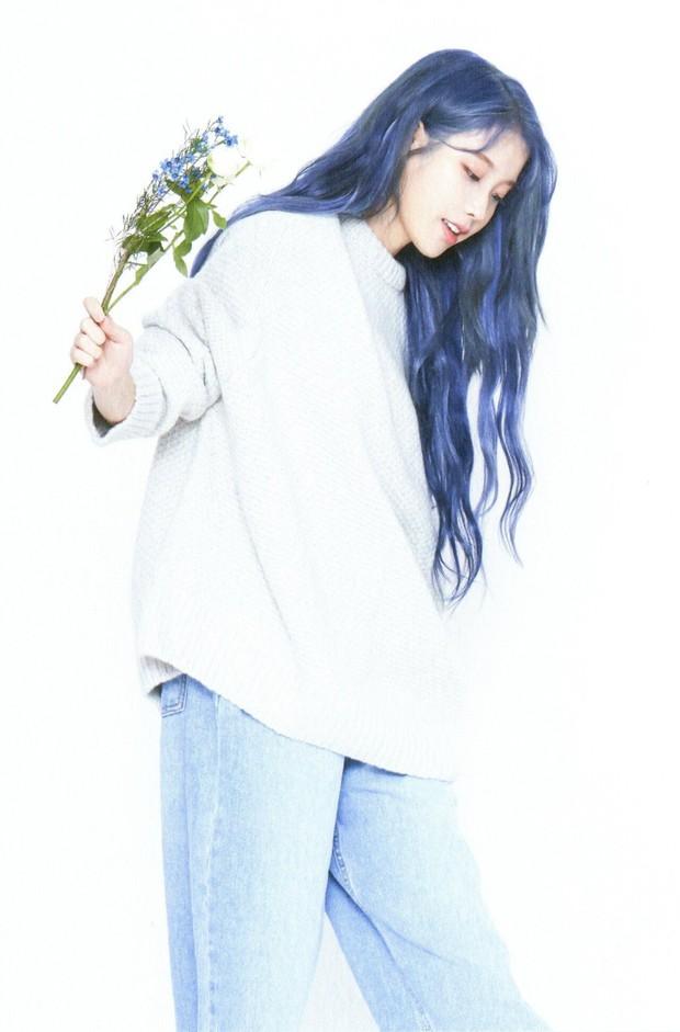 Hết tóc tím, chị nguyệt CEO IU lại khiến dân tình ngã quỵ với tóc xanh nâng tầm nhan sắc đỉnh cao - Ảnh 5.