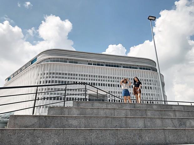 Khám phá Ngôi nhà hình lục giác trị giá hơn 400 tỷ đồng đang làm mưa làm gió sinh viên Sài Gòn - Ảnh 11.