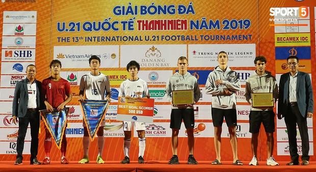 Siêu tiền đạo U21 Việt Nam thâu tóm toàn bộ danh hiệu cá nhân, sáng cửa chờ HLV Park Hang-seo triệu tập dự SEA Games 30 - Ảnh 14.