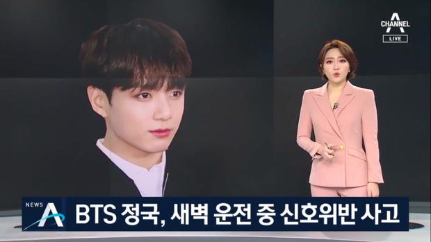 Công bố nguyên nhân thật sự dẫn đến vụ Jungkook (BTS) gây tai nạn - Ảnh 1.