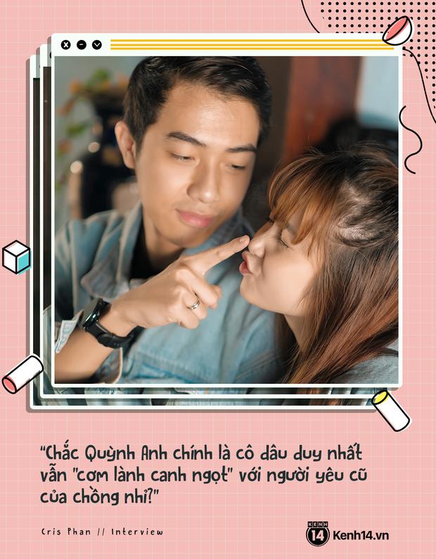 Cris Phan và Mai Quỳnh Anh: Cưới rồi sống healthy và balance hơn hẳn, chuyện xa xôi tính chi cho mệt đầu - Ảnh 4.