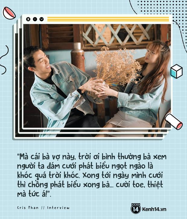 Cris Phan và Mai Quỳnh Anh: Cưới rồi sống healthy và balance hơn hẳn, chuyện xa xôi tính chi cho mệt đầu - Ảnh 5.