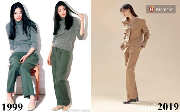 Ảnh 20 năm trước của mợ chảnh Jeon Ji Hyun bỗng gây sốt vì style vẫn chất và hợp trend, makeup tí tẹo mà thần thái ngút ngàn - Ảnh 3.