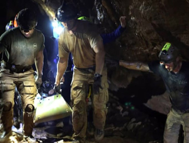 Mở lại hang Tham Luang - nơi diễn ra cuộc giải cứu thần kỳ 13 thành viên đội bóng thiếu niên Thái Lan - Ảnh 13.