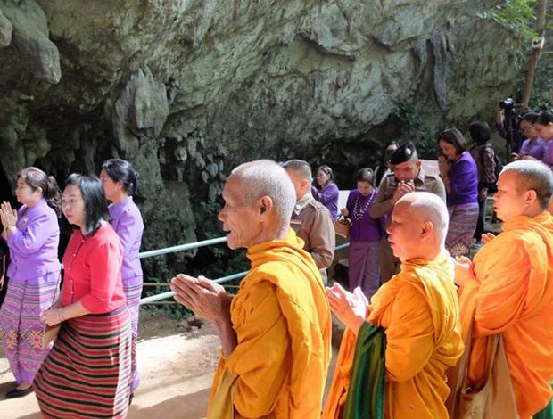 Mở lại hang Tham Luang - nơi diễn ra cuộc giải cứu thần kỳ 13 thành viên đội bóng thiếu niên Thái Lan - Ảnh 2.