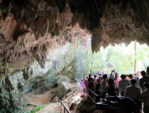 Mở lại hang Tham Luang - nơi diễn ra cuộc giải cứu thần kỳ 13 thành viên đội bóng thiếu niên Thái Lan - Ảnh 4.