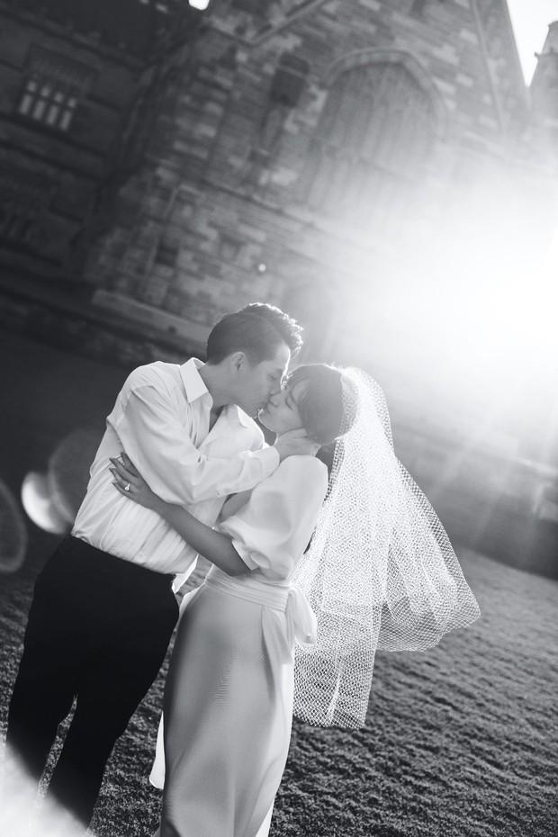 Nhìn Đông Nhi diện váy cưới, để tóc đơn giản mà vẫn xinh ngất, hẳn nàng nào cũng muốn làm bộ ảnh cưới xịn y chang - Ảnh 6.