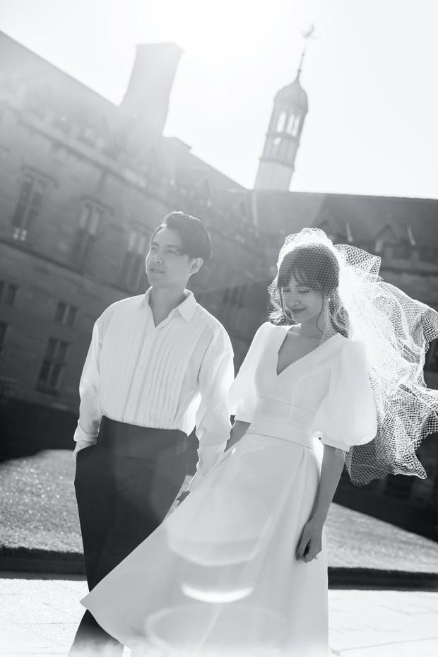 Nhìn Đông Nhi diện váy cưới, để tóc đơn giản mà vẫn xinh ngất, hẳn nàng nào cũng muốn làm bộ ảnh cưới xịn y chang - Ảnh 5.