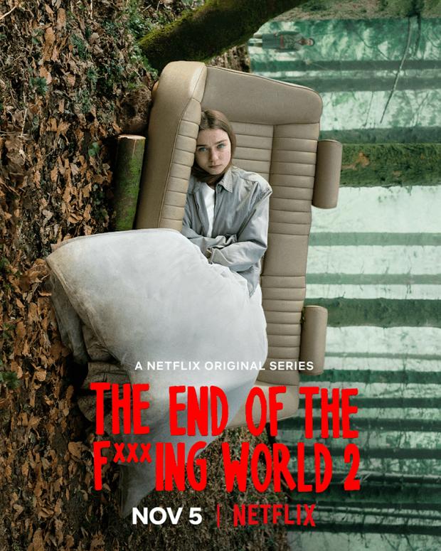 The End of the F***ing World: Thấm thía nỗi cô đơn tuổi dậy thì trong phim teen kì dị nhất trên Netflix - Ảnh 2.