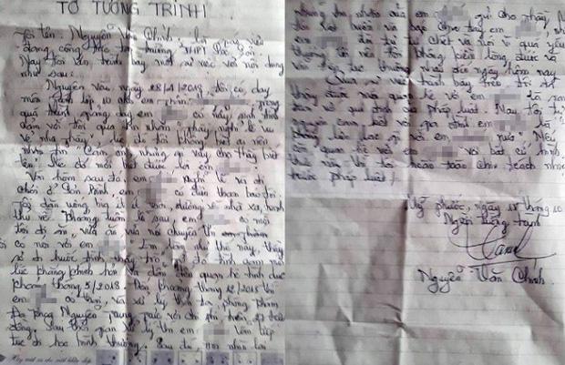Không đồng ý đơn xin nghỉ việc của thầy giáo 55 tuổi làm nữ sinh có bầu - Ảnh 1.
