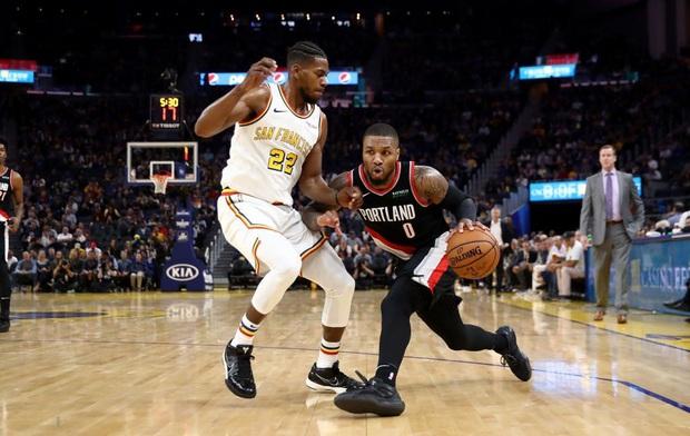 NBA 19-20: Đánh bại Portland Trail Blazers, Golden State Warriors lần đầu chiến thắng tại Chase Center - Ảnh 2.