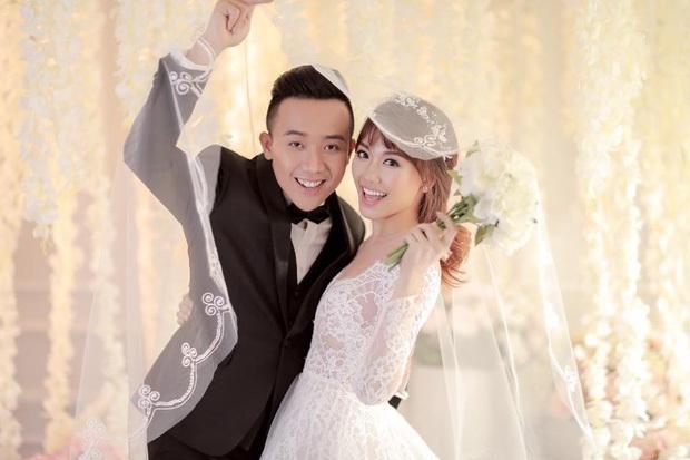 Showbiz rần rần đón tin hỷ, ngắm lại loạt ảnh cưới cực đỉnh của dàn sao Việt mà chỉ muốn lên xe hoa ngay và luôn - Ảnh 5.