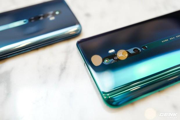 Ngắm nhìn Oppo Reno2 F màu Xanh Tinh Vân: Từ xanh hóa tím ảo diệu không rời mắt, giá không đổi - Ảnh 11.