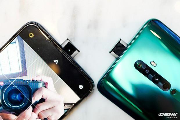 Ngắm nhìn Oppo Reno2 F màu Xanh Tinh Vân: Từ xanh hóa tím ảo diệu không rời mắt, giá không đổi - Ảnh 12.